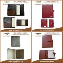 pvc leather pocket folders custom for BUGATTI