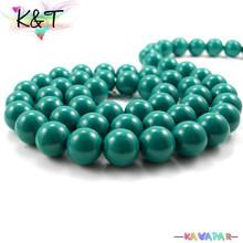 Kavatar Wholesale Women Necklace&Bracelet Used Glass Beads