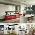 Canton FAIR Foshan Modular laca MDF cozinha indiana design desenho