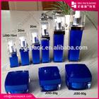 China 15ml 20ml 30ml 50ml 100ml 140ml Square Shape Cosmetic Bottle With Spray Fragrance Bottle