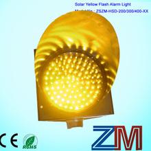 400mm LED solar flasher warning sunflowers
