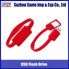 Promotion silicone USB flash memory bracelet