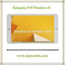Cheapest Windows 8 W8 Kingsing Intel Quad Core, 1.8 GHZ CPU Cheap Windows 8 16GB HDMI Bluetooth China cheap tablet pc