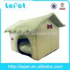 soft fiber filled cozy dog bed