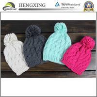 Custom Knitted Pom Beanie Hat / Baby Boy Knitted Hat