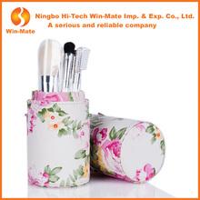 Attention! 7pcs brand name fashion make up brush set with flower design