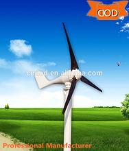 high quality 300W,600W, horizontal wind turbine, variable pitch control blade 60kw wind generator