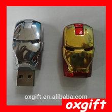 OXGIFT iron man u disk 512Mb-32Gb bulk cheap usb pen drive