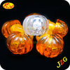 Plastic pumpkins wholesale halloween decoration led finger ring of promotion gift flashing led ring light