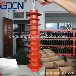 Type of Surge Arrester/silicon rubber lighting arrestor/fume arrestor 35KV ,