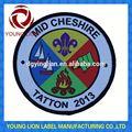 overlocking escoteiros emblema