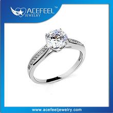 Wholesale Fancy Jewelry Italina Diamond Engagement Ring 115380B