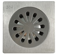 Cheap bathroom pvc shower floor drain cover