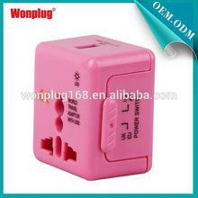 Mini Top Selling Worldwide Wonplug Patent 1Year Guarantee Cheap travel plug adapter walmart