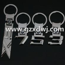 Different type car logo key chain ,BMW X 5 BMW X 7 BMW1 key ring .Popular key chain