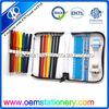folding pencil case / filling pencil case with pencil