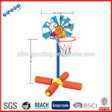 water usable portable basketball hoop stand plastic basketball stand for kids