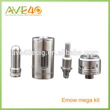 Oringinal Kanger emow mega kit stainless Wholesale in stock bulk e cigarette purchase