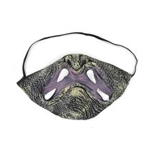 ugly halloween half mask ; latex horror mask