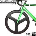 Rendimiento aeroespacial alta rigidez 700c artes fijos habló de la bicicleta ruedas de carbono