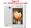 "Jiayu F1 Original 3G WCDMA MTK6572 Dual core 512MB RAM 4GB ROM 4"" 800x480 Android Mobile Phones Russian Spanish Multi language"