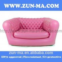 2012 new design PVC inflatable cartoon sofa chair