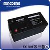 Good quality gel ups 200ah solar system storage battery