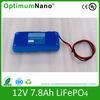 Lithium ion battery 12.8V 7.8Ah UPS LiFePO4 Battery