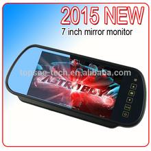 7 inch TFT LCD backup car mirror monitor