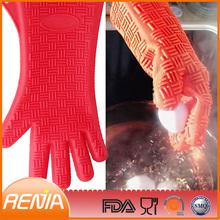 RENJIA fire resistant gloves finger glove heat resistant finger food holder