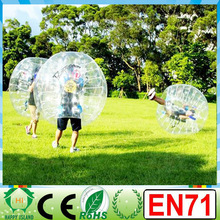 HI top quality CE EN71 0.8/1.0mm PVC/TPU Colorful/inflatable soccer bubble,giant ball inflatable,inflatable zorb ball