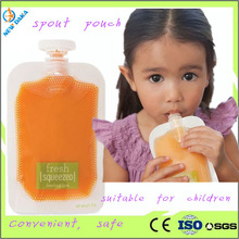 Squeeze Pouches Infant Care Baby Food Portable