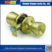 New style high quality cylindrical front door handles and locks