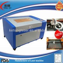 Mini high precision low price Germany KL-460 Puan 50w laser engraving machine for guns