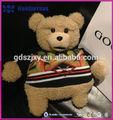 custom pelúcia ursinho handwarner lacaio de natal brinquedos de pelúcia