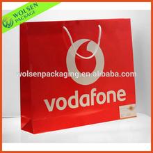 2014 China custom paper bag / printing paper bag / shopping paper bag