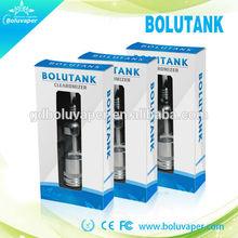 boluvaper 2014 newly developed sleek design air flow e cigarette glass tank bolutank