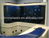 acrylic aquarium for marine museum