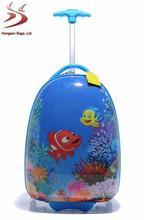 pvc book durable teens school trolley bag