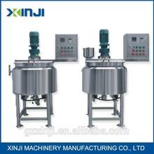 cosmetics perfume and cream machinery mixer homogenizer