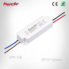 LPV-12E electronic LED driver with CE ROHS KC PSE TUV CCC certification