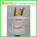 caldo in vendita su ordinazione festa di compleanno felice torta di compleanno cappello