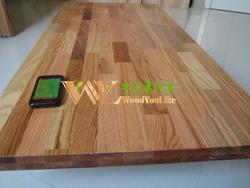 Solid wood board red oak finger joint board