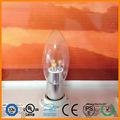 E14 led parpadeo de la llama de luz de vela bombillas/led luz de vela/vela llevó la luz