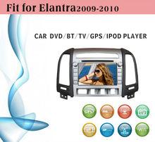 8 inch car dvd gps navigation fit for Hyundai Elantra 2009 with radio bluetooth gps tv