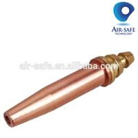 Acetylene Gas nomal Type gas cutting nozzle size