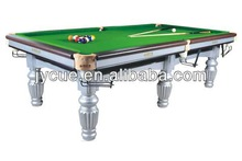 low price Carom Billiard Table Snooker Table for fashion pvc belt