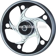 Cub-type motorcycle aluminum 17inch aftermarket motorcycle wheels rim