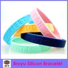 silicon bracelets with logo