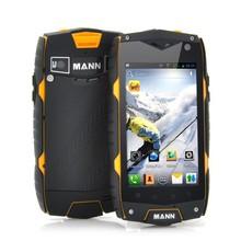 "Rugged waterproof phone MANN ZUG3 + IP68 4.0 ""screen Qualcomm MSM8212 1.2GHz quad core waterproof floating mobile phone"